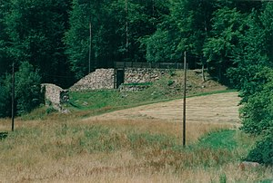 Heunischenburg - Front view of the Heunischenburg