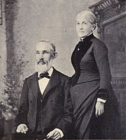 Hiram and Clara Brewster Bingham in 1887.jpg