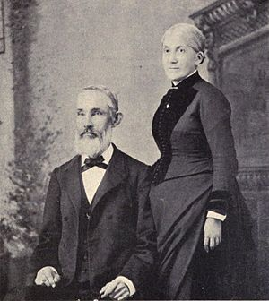 Hiram Bingham II - Hiram II and wife in 1887