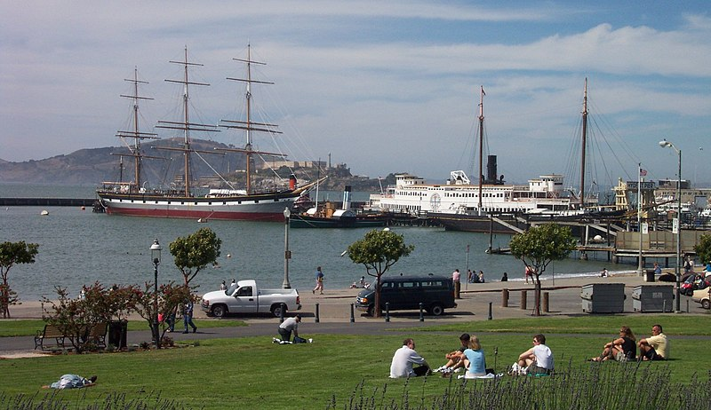 File:Historic ships of the San Francisco Maritime National Historic Park.jpg