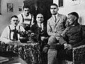 Hitler, Maurice, Kriebel, Hess, Weber, prison de Landsberg en 1924.jpg