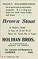 Holihan Brothers beer and whiskey ad- 1908.jpg
