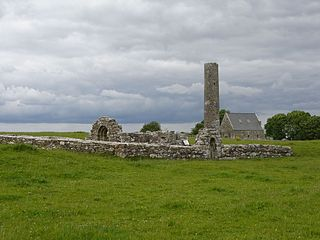 Inis Cealtra Island in County Clare, Ireland