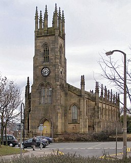 Holy Trinity Church, Bolton Church in Greater Manchester, England