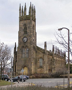 Holy Trinity Church, Bolton - Image: Holy Trinity Church geograph.org.uk 1708889