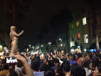 Juan Gabriel - Juan Gabriel statue