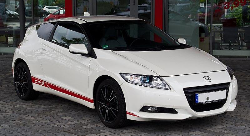 Honda CR-Z 1.5 IMA %E2%80%93 Frontansicht, 25. August 2013, D%C3%BCsseldorf.jpg