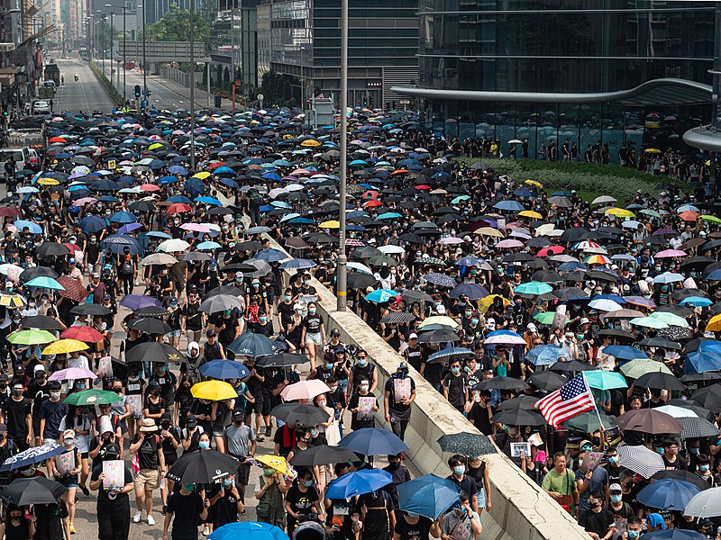 Hong Kong protests - Kwong Tong March 20190824 - P1066237.jpg