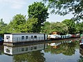 Houseboats on the canal at Cowley - geograph.org.uk - 809580.jpg