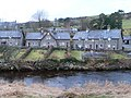 Houses along the bank of the Conwy, Ysbyty Ifan - geograph.org.uk - 1173774.jpg