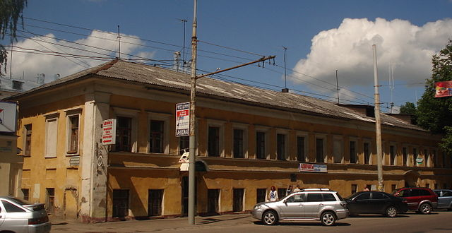 Дом, по соседству с которым Ушинский жил в Ярославле