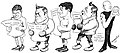 How the fighters take the news as they see it in the papers by Jimmy Swinnerton.jpg