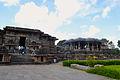 Hoysalesvara Temple with Nandi.JPG