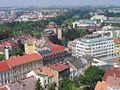 Hradec Kralove - pohled z radnicni veze na Muzeum.jpg