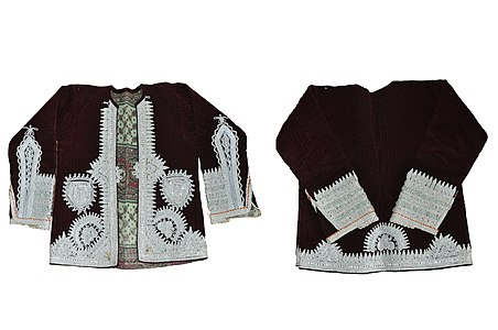 Hrka - richly decorated vest Gorani National costume.jpg