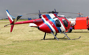 MD Helicopters MD 500 - A Hughes 500 Model 369HS