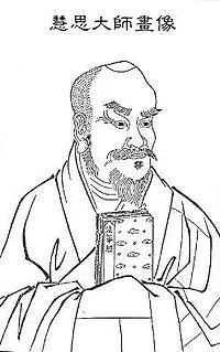 Nanyue Huisi Chinese Buddhist monk