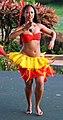 Hula dancer in action, Poipu, Kauai, Hawaii (4829710188).jpg