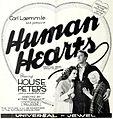 Human Hearts (1922) - Ad 2.jpg