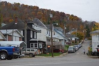 Hundred, West Virginia - Cleveland Street houses