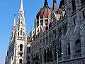 Hungarian Parliament, Danube side detail, Budapest (398) (13227527173).jpg