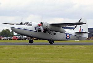 Percival Pembroke - Privately owned Hunting Percival P.66 Pembroke C.1 takes off in 2008
