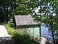 Hut with a view, Damflask Reservoir, near Sheffield - geograph.org.uk - 1615048.jpg