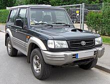 Hyundai galloper 2002