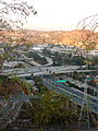 I-5 SR 110 interchange from Elysian Park.jpg