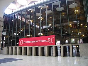 Samstag aus Licht - Teatro Regio, Turin, where Klavierstück XIII was premiered in 1982