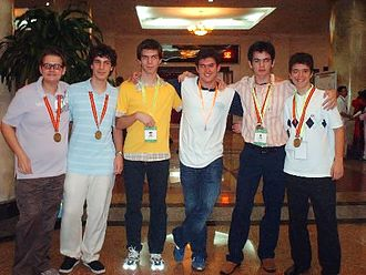 International Mathematical Olympiad - Members of the 2007 IMO Greek team.