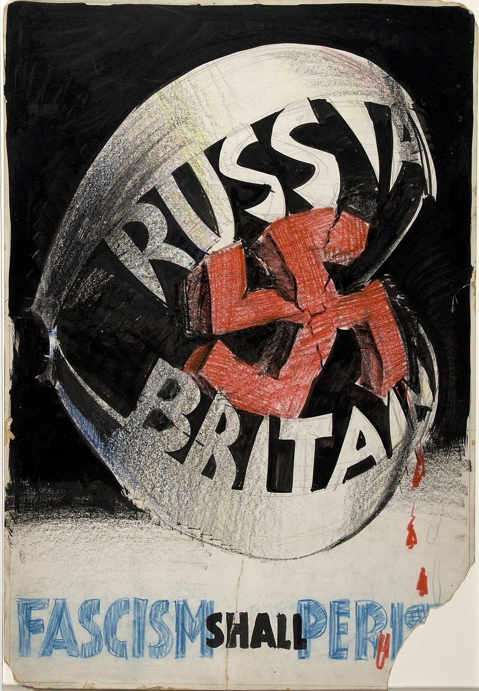 INF3-329 Unity of Strength Fascism shall perish