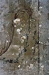 interieur, wandschildering, detail - bergen op zoom - 20275006 - rce
