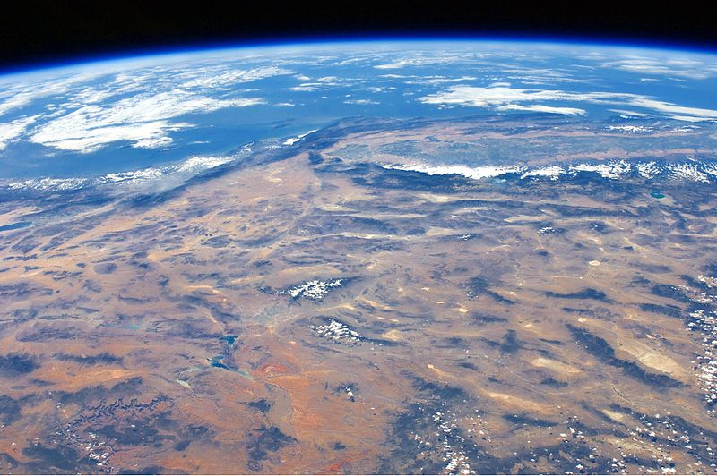 File:ISS View of the Southwestern USA.JPG