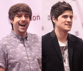 Smosh - Smosh founders Ian Hecox (left) and Anthony Padilla (right) in 2014
