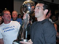 Ian Russell holding MLS Cup trophy.jpg
