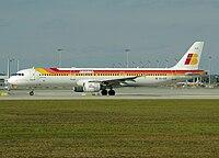 EC-ILO - A321 - Iberia
