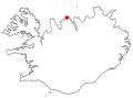 Iceland Siglufjörður position.png