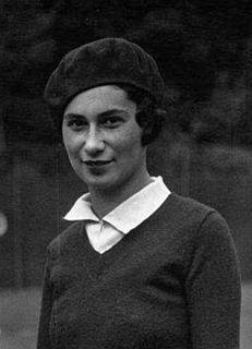 Ida Adamoff French tennis player