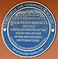 Ida B. Wells blue plaque - 2019 -10-23- Andy Mabbett.jpg