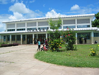 TAZARA Railway - TAZARA train station in Ifakara