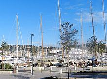 Il porto moderno di Cannes