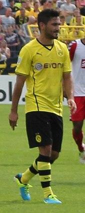 Manchester DFB Ilkay Gündogan signiert S Deutschland Trikot