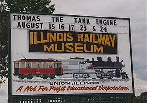 English: Illinois Railway Museum in Union, Ill...