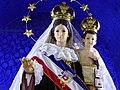 Imagen religiosa de la Virgen del Carmen en el Santuario de La Tirana, Región de Tarapacá, Chile.jpg