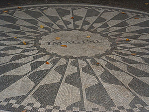 Imagine Memorial (Strawberry Fields Memorial i...