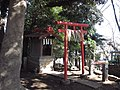 Inari Shrine (稲荷神社) in Komatsunagi Shrine (駒繋神社) - panoramio (1).jpg
