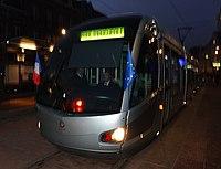 Inauguration de la branche vers Vieux-Condé de la ligne B du tramway de Valenciennes le 13 décembre 2013 (003).JPG