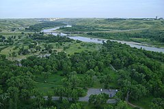 Indian Battle Park from High Level Bridge - panoramio.jpg