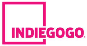 Crowdfunding - Indiegogo's logo.